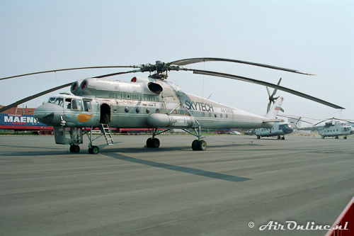 RA-04130 Mil Mi-10K Skytech (Oostende, Belgium, 24 juli 1994)