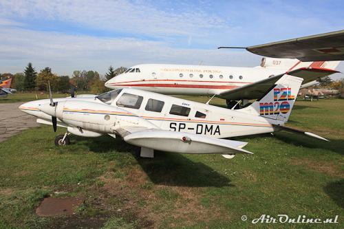 SP-DMA PZL-Mielec M-20-03 Mewa (Krakau Aviation Museum, 4 oktober 2012)