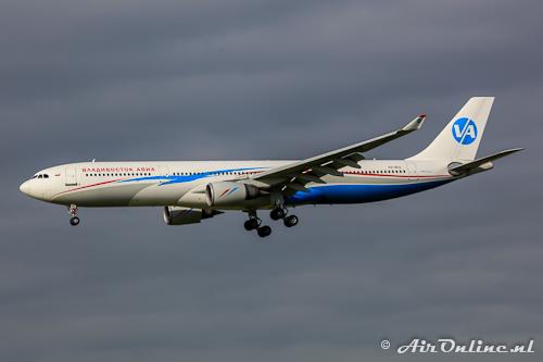 VQ-BEQ Airbus A330-301 Vladivostok Air