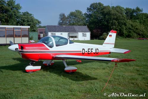 D-EFJD Bölkow Bo.209 Monsun (Hilversum, 9 juni 1984)