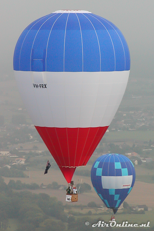 VH-FRX Kavanagh Balloons EX-65