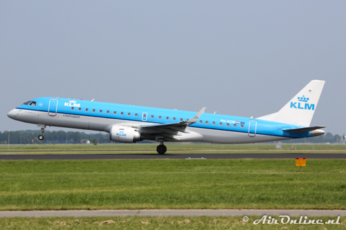PH-EZW Embraer 190-100STD KLM CityHopper