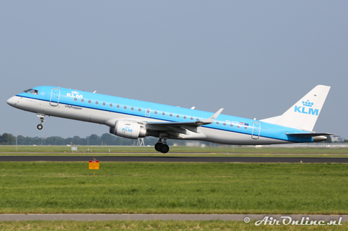 PH-EZE Embraer 190-100STD KLM CityHopper