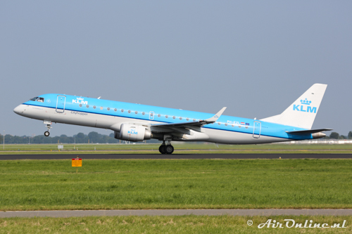 PH-EZL Embraer 190-100STD KLM CityHopper