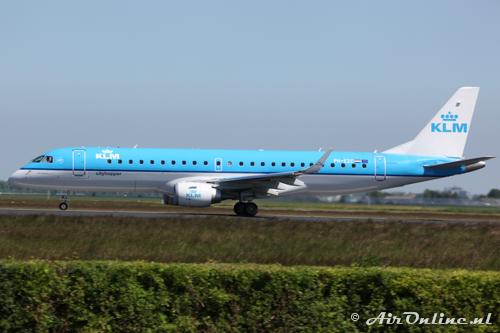 PH-EZC Embraer 190-100STD KLM CityHopper