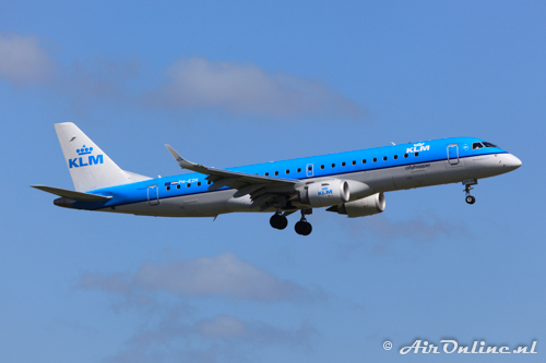 PH-EZH Embraer 190-100STD KLM CityHopper