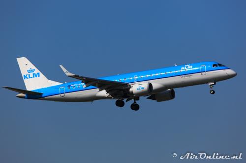 PH-EZM Embraer 190-100STD KLM CityHopper