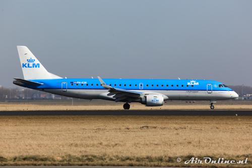 PH-EZR Embraer 190-100STD KLM CityHopper