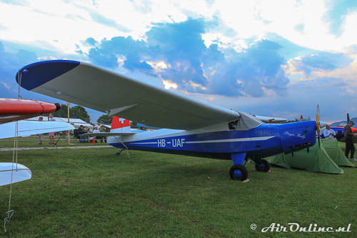HB-UAF Praga E.114M Air Baby (Hahnweide, 2013)