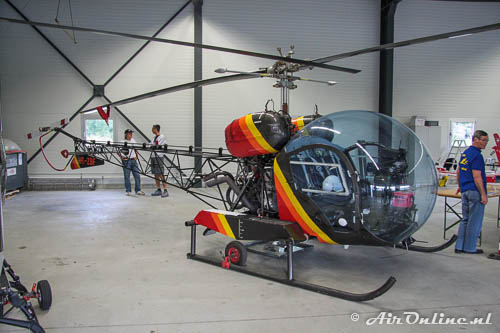 HB-ZBF Westland-Agusta-Bell 47G-3B1