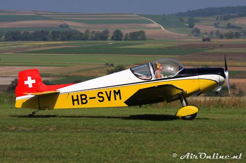HB-SVM Jodel D.119 / Uetz U2V