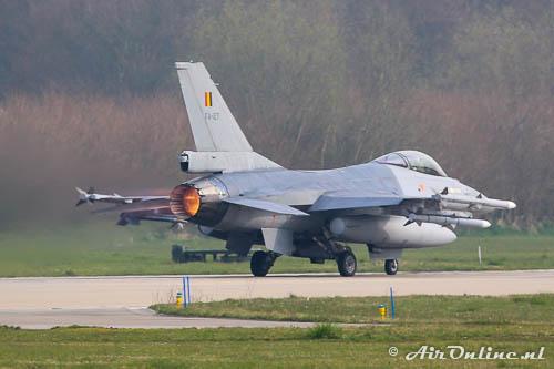 FA-127 F-16AM BLu