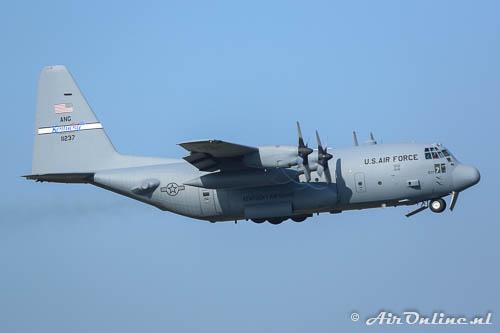 91-1237 Lockheed C-130H Hercules USAF Kentucky ANG