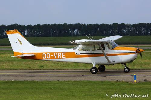 OO-VRE Reims/Cessna F172M Skyhawk als buitenlandse deelnemer aan de Dutch Air Rally