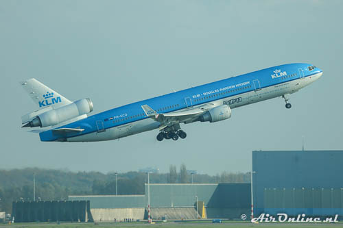 PH-KCD McDonnell Douglas MD-11 KLM Royal Dutch Airlines