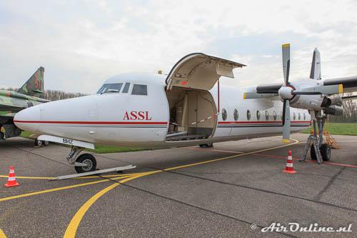 AP-BHZ Fokker F-27-500 Friendship met vrachtdeur