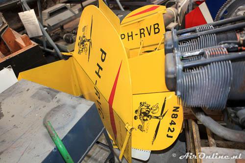 PH-RVA PH-RVB N842J staartvlakken van gyrocopters