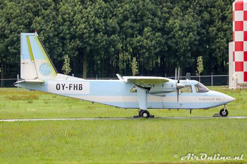 OY-FHB Britten-Normann BN-2A-21 Islander Hjemmeværnskommandoen