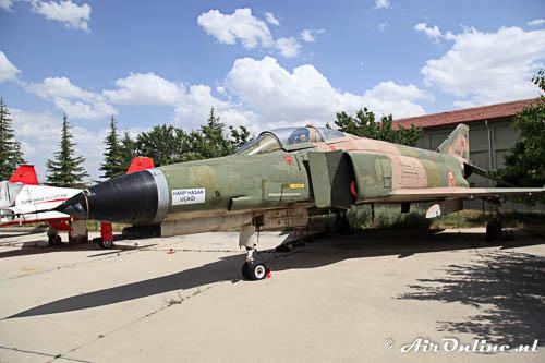 67-0217 McDonnell Douglas F-4E Phantom II TuAF stored