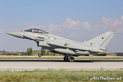 ZJ924 / DD Eurofighter EF-2000 Typhoon FGR.4 RAF