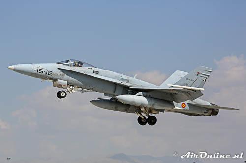 C15-25/ 15-12 McDonnell Douglas EF-18A Hornet SpanishAF