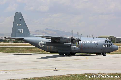 4180 Lockheed C-130E Hercules PakistanAF