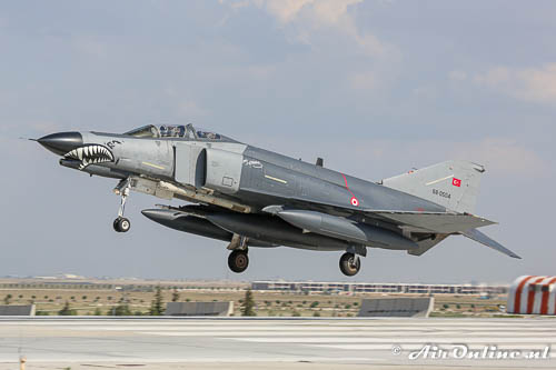 McDonnell Douglas F-4E-2020 Phantom tijdens Anatolian Eagle in Turkije