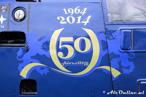 15122015 afscheid na 51 jaar van de alouette iii bij de