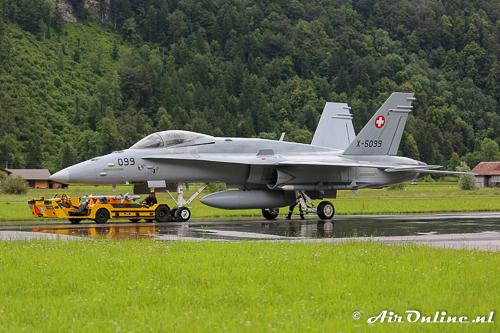 X-5099 F/A-18A Hornet mock-up