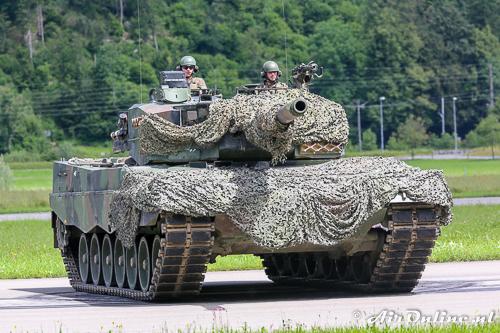 Leopard-87 tank