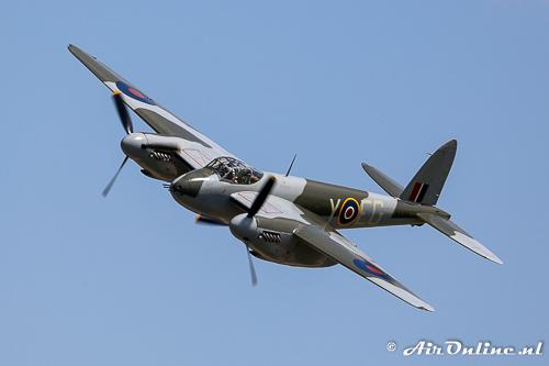 N114KA / KA114 De Havilland DH-98 Mosquito FB.26 als opvolger van de Blenheim