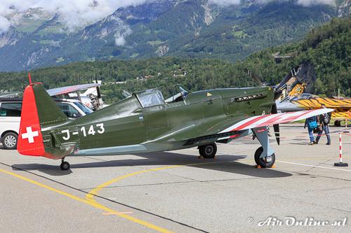 HB-RCF Morane Saulnier 406-C1 / D3801