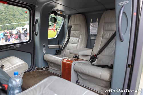 T-352 Eurocopter EC635VIP met een luxe VIP-interieur