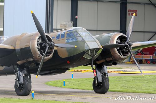 G-BPIV (L6739 / YP-Q) Bristol / Fairchild Bolingbroke (Blenheim) met zijn korte neusMk.I