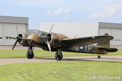 G-BPIV (L6739 / YP-Q) Bristol / Fairchild Bolingbroke (Blenheim) Mk.I