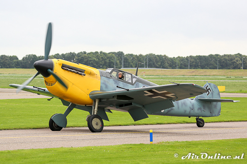G-AWHK Hispano HA-1112-M1L Buchon