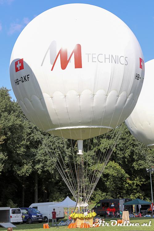 HB-QKF Wörner NL-1000/STU, de winnende ballon