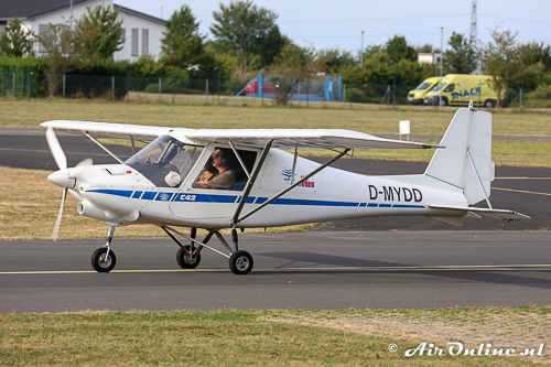 D-MYDD Comco Ikarus C42 Cyclone