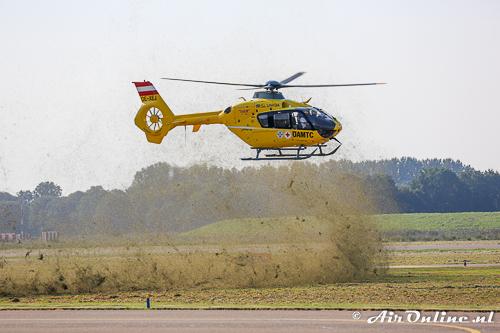 """OE-XEJ Eurocopter EC135 T2 zorgt voor wat """"opschudding"""""""