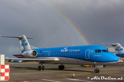 PH-KZB Fokker 70 KLM CityHopper