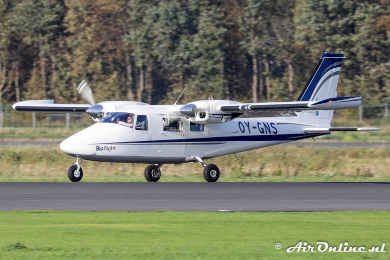 OY-GNS Vulcanair P.68C-TC