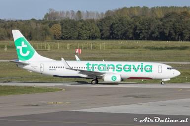 PH-HXK Boeing 737-8K2(WL) Transavia