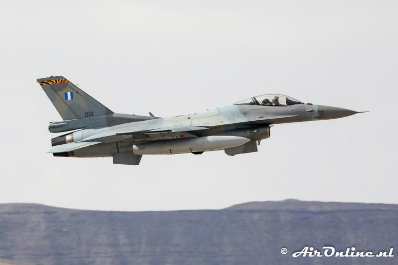 001 F-16C Block 52 335 Mira Hellenic Air Force