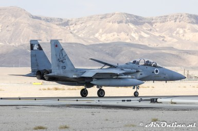 113 F-15B Baz 133sq Israeli Air Force