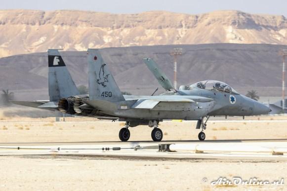 450 F-15D Baz 133sq Israeli Air Force