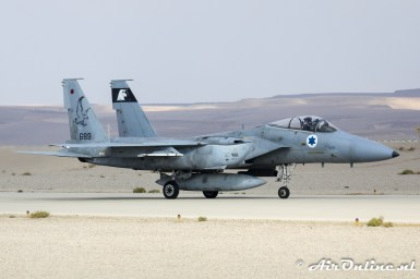689 F-15A Baz 133sq Israeli Air Force