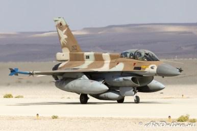 050 F-16D Block 30 Barak 109sq Israeli Air Force