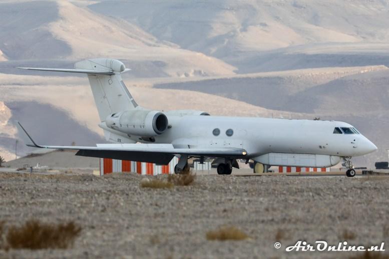 676 Gulfstream G-V Nachshon Shavit 122sq Israeli Air Force