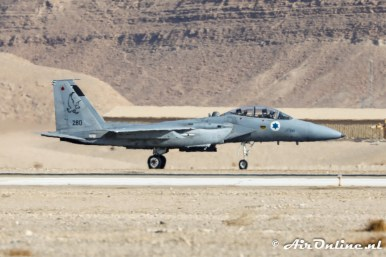 280 F-15D Baz 133sq Israeli Air Force
