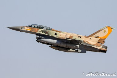 881 F-16I Sufa 107sq Israeli Air Force